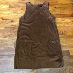 Forever21 F21 brown dress mid fit